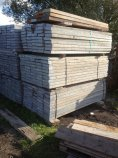 Used  Galv Steel Stage