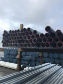 New H.T. 5ft x 3.2mm Galvanised Tube
