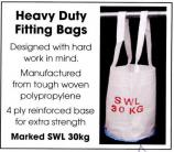 Fitting Bag - 30kg SWL