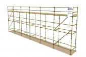 Refurbished 48ft x 16ft Kwikstage Run c/w New Timber Battens