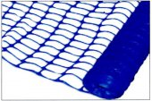 Blue Barrier Fencing 50 x 1m