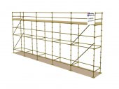 Refurbished 40ft x 16ft Kwikstage Run c/w New Timber Battens