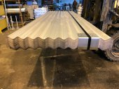 "C.I. Sheets 10ft long 3"" Corrugation"