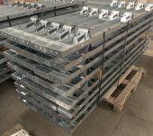 2.4m Galvanised Roadform