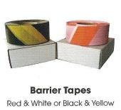 Red / White Barrier Tape - 75mm x 500m
