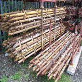 Used 8ft x 16ft Kwikstage Run c/w New Timber Battens