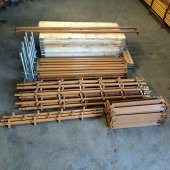 New 56ft x 16ft Kwikstage Run c/w New Timber Battens