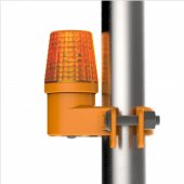 LED Scaffold Safety Light c/w Batteries