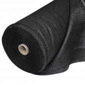 Black Fire Retardent Event Mesh 50 x 2.3m