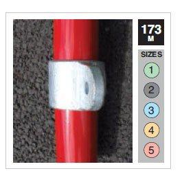 Single Male Swivel Tube Clamp 42.4mm OD - Size 3