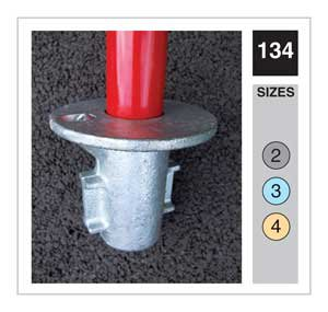 Ground Socket Tube Clamp 48.3mm OD - Size 4