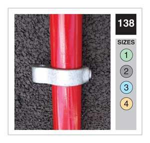 Gate Eye Tube Clamp 42.4mm OD - Size 3