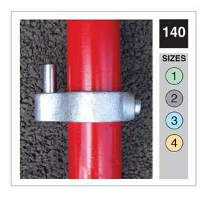 Gate Hinge Tube Clamp 42.4mm OD - Size 3