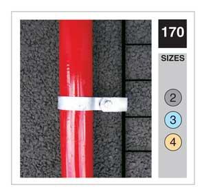 Single Mesh Panel Clip Tube Clamp 48.3mm OD - Size 4