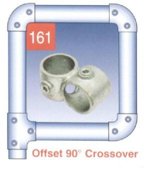 Offset 90 Degree Crossover At Scaffolding Supplies