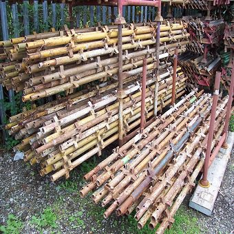 Used 16ft x 16ft Kwikstage Run c/w New Timber Battens