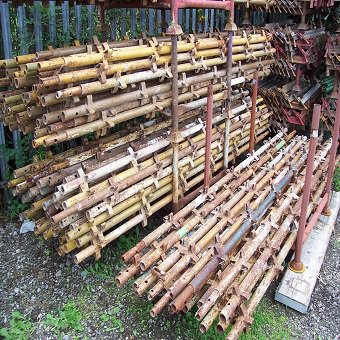 Used 24ft x 16ft Kwikstage Run c/w New Timber Battens