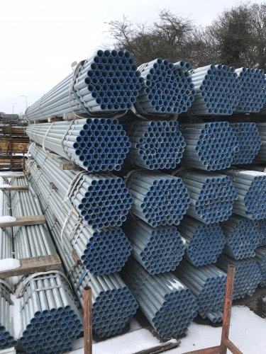 New 21ft Galvanised Scaffold Tube Scaffolding Supplies