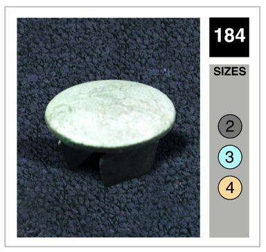Metal Plug Tube Clamp 42.4mm OD - Size 3