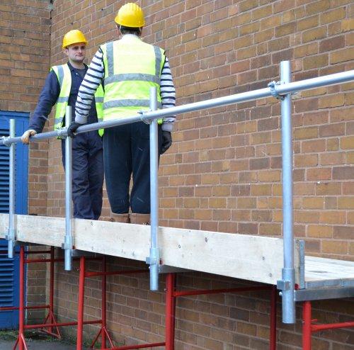 Easi Clamp Handrail Bracket Scaffolding Supplies