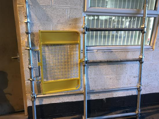 New 1.8m Bay Ladder Access Gate Kit